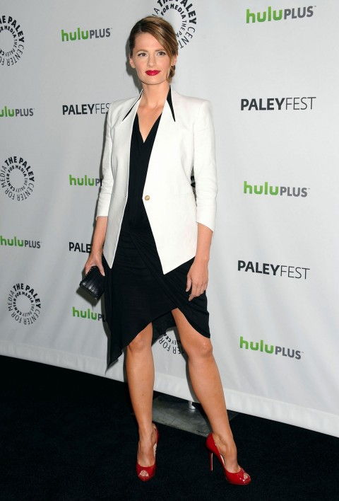 Stana Katic At Castle Panel At Paley Fest In Beverly Hills