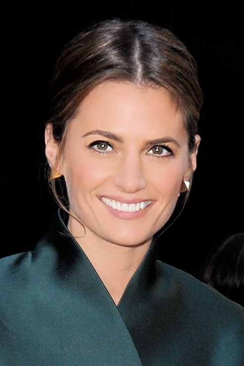 Stana Katic Leaving Good Morning America In New York City November Stana Katic