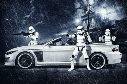 Bmw Stormtrooper By Vilner Previews Star Wars Episode Vii Episode