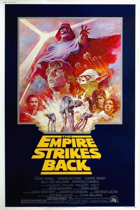 Star Wars Episode Empire Strikes Back Poster Movies