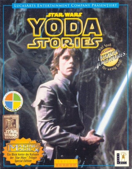 Star Wars Yoda Stories Windows Front Cover Star Wars Yoda Stories