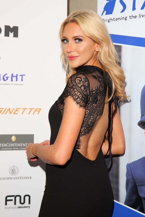 Stephanie Pratt At Zoom Auction Charity Gala In London February Stephanie Pratt
