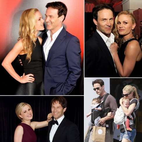 Anna Paquin And Stephen Moyer Stephen Moyer