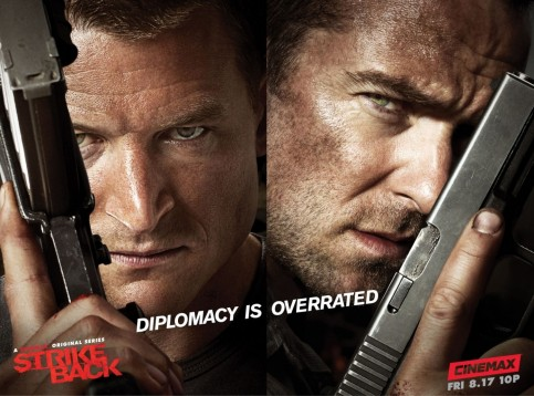 Strike Back Poster Vengeance