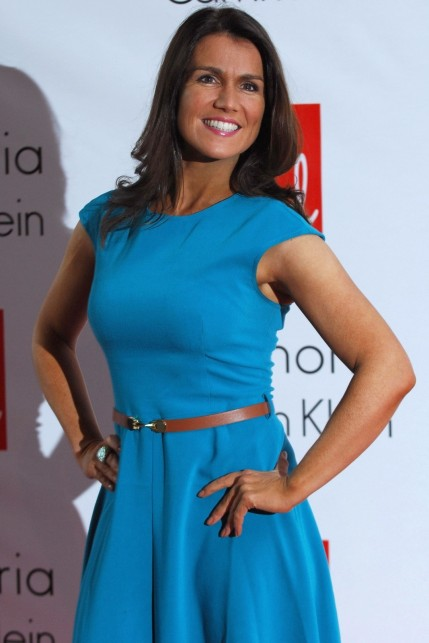 Sploogeblog Susanna Reid Blue Dress Wallpaper