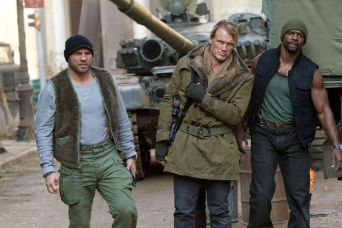 Picture Of Dolph Lundgren Terry Crews And Randy Couture In The Expendables Large Picture
