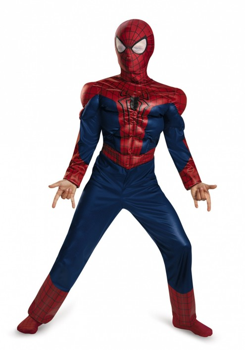Child Spider Man Classic Muscle Costume The Amazing Spider Man