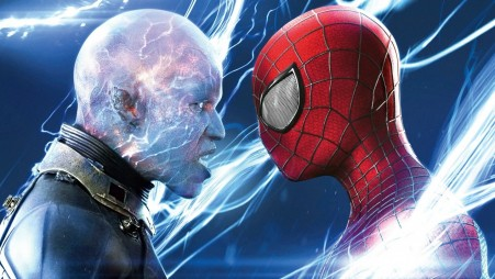 Jamie Foxx As Electro Faces Spider Man In The Amazing Spider Man The Amazing Spider Man