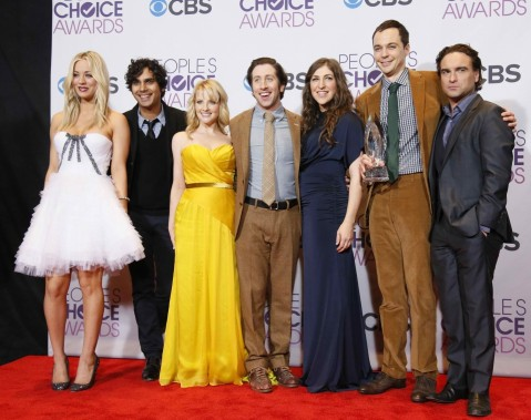 The Big Bang Theory Also Won The Award For Favorite Network Tv Comedy At The Peoples Choice Awards In Los Angeles On January The Big Bang Theory
