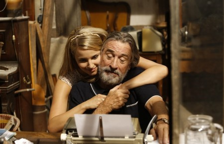 Dianna Agron Belle Blake And Robert De Niro Fred Blake In The Luc Besson Film The Family Film