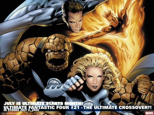 Ultimate Fantastic Four Crossover The Fantastic Four