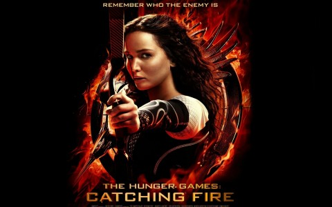 The Hunger Games Catching Fire Katniss Wallpaper The Hunger Games