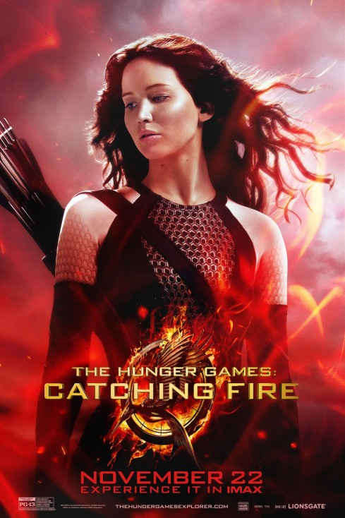 The Hunger Games Catching Fire Movie Poster The Hunger Games