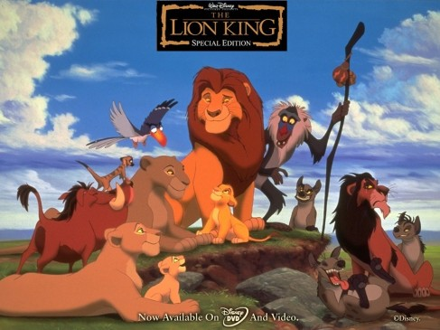 Lion King Pride Characters