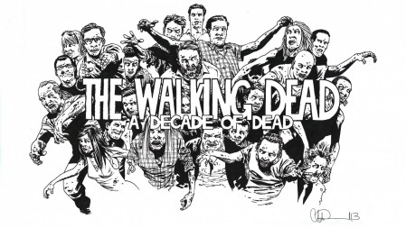 The Walking Dead Decade Of Dead Documentary Celebrating Years Of The Tv Series Comics Comic