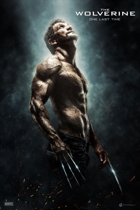 The Wolverine One Last Time Movie Poster The Wolverine One Last Time By Ryan Crain Des