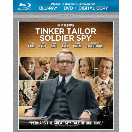 Tinker Tailor Soldier Spy Blu Ray Large Dvd Cover