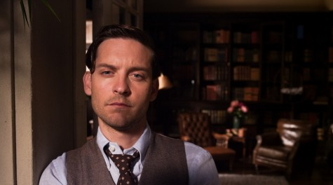 The Great Gatsby Tobey Maguire As Nick Carraway Face