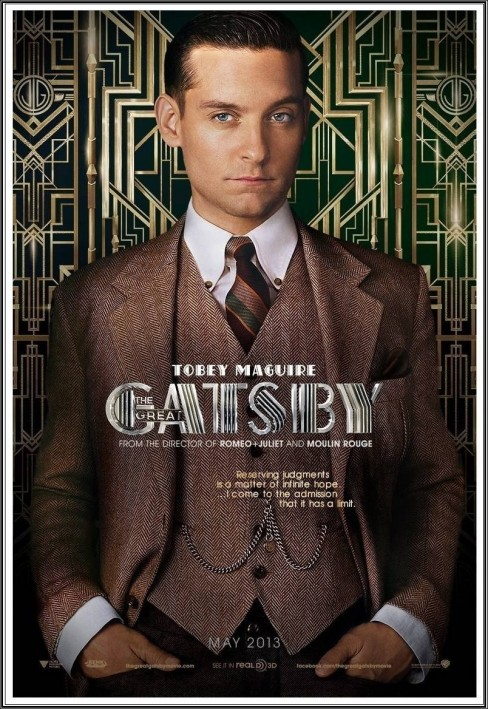 The Great Gatsby Tobey Maguirew
