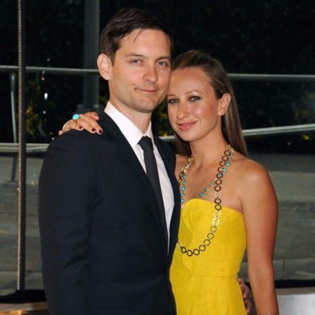 Tobey Maguire And Jennifer Meyer Cropped Tobey Maguire