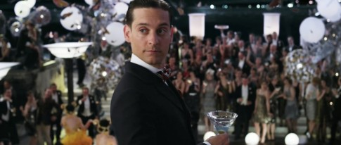 Tobey Maguire As Nick Carraway Great Gatsby
