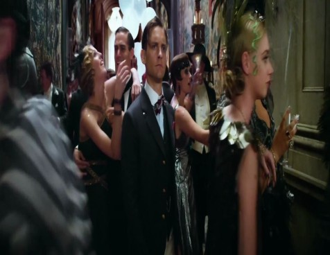 Tobey Maguire In The Great Gatsby Movie Great Gatsby