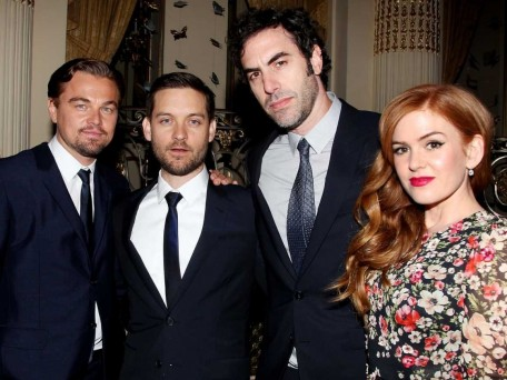 Tobey Maguire Leonardo Dicaprio Isla Fisher Great Gatsby Premiere After Party  Tobey Maguire