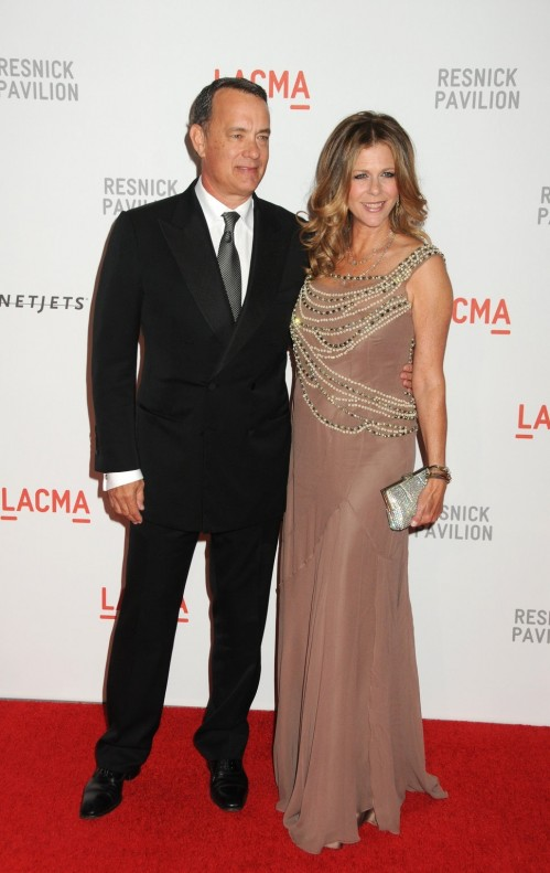 Tom Hanks And Rita Wilson Mauv And Rita Wilson