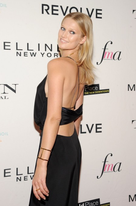 Toni Garrn The Daily Front Row Rd Annual Fashion Media Awards In New York City Toni Garrn