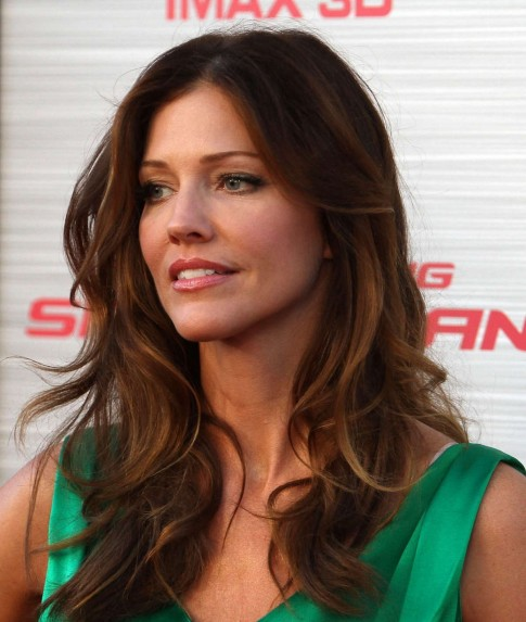 Tricia Helfer At The Amazing Spider Man Premiere In Westwood