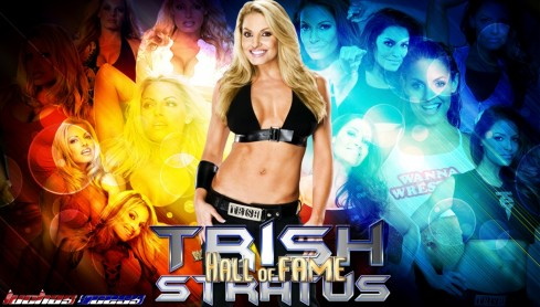 Wallpaper Trish Stratus Hall Of Fame Wedding