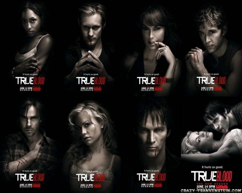 True Blood Cast Tv Serie Wallpapers Tv