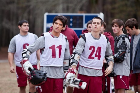 Picture Of Tyler Posey And Dylan Brien In Teen Wolf Large Picture And Dylan Brien