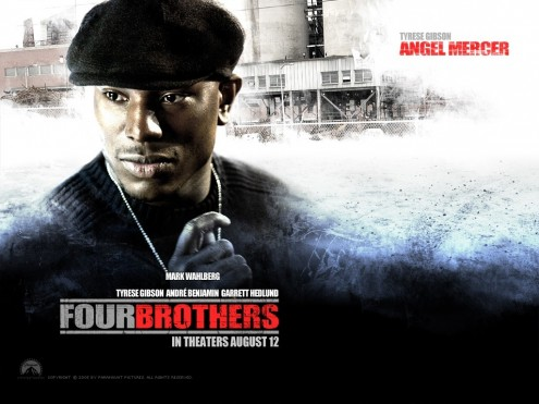 Tyrese Gibson In Four Brothers Wallpaper Movies