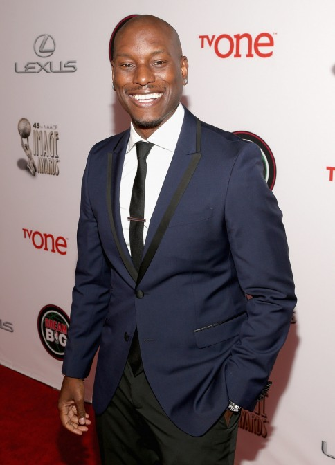 Tyrese Gibson Suited Up Show Tyrese Gibson