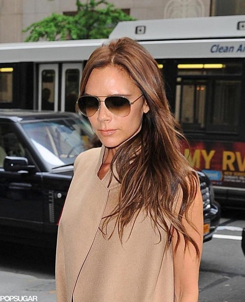 Victoria Beckham Smiling Nyc Pictures Smiling