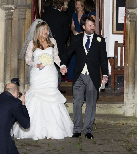 Victoria Coren And David Mitchell Honeymoon