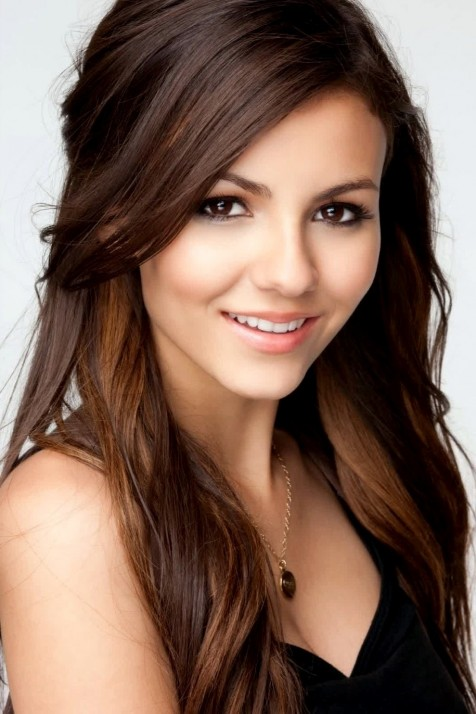 Victoria Justice Brown Hairstyles
