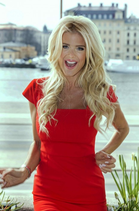 Victoria Silvstedt Does Photocall For Celebrity Reality Series Reality Stars Stockholm Victoria Silvstedt