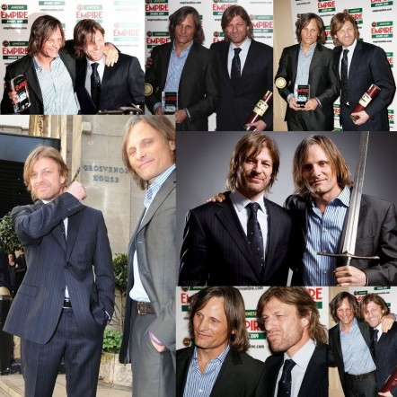 Viggo Mortensen And Sean Bean Lord Of The Rings Viggo Mortensen