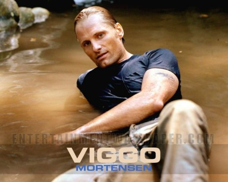 Viggo Mortensen In Navy Shirt With Wash Straight Jeans All People Photo Viggo Mortensen