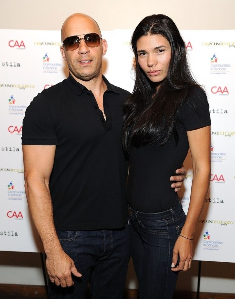 Vin Diesel Caa Young Hollywood Party Nvgrxuyublxx Girlfriend