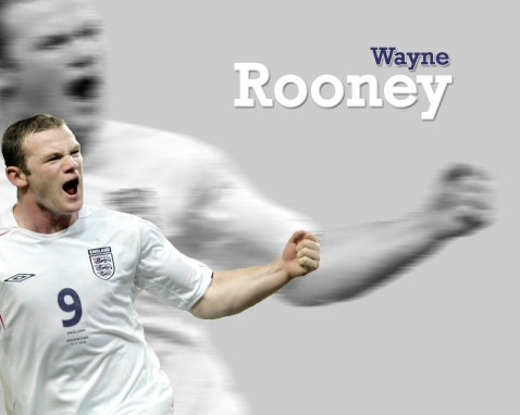 Wayne Rooney England Wallpaper England