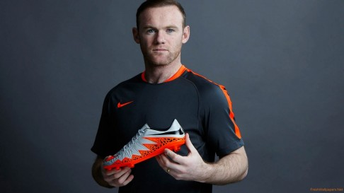Wayne Rooney Nike Hypervenom Phinish Football Boots
