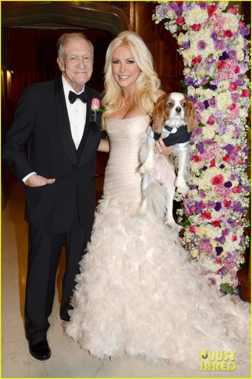 Hugh Hefner Crystal Harris Wedding Pictures Revealed