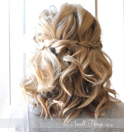 Amazing Half Up Hairstyles For Short Hair About Remodel Short Bob Hairstyles With Half Up Hairstyles For Short Hair Wedding Hairstyles