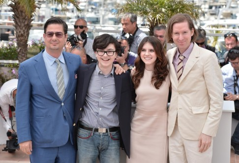 Wes Anderson Roman Coppola Jared Gilman And Kara Hayward At Event Of Moonrise Kingdom Moonrise Kingdom