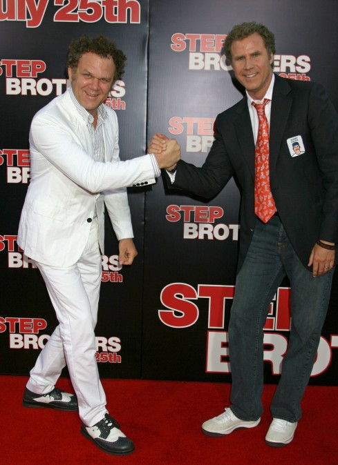 Will And John John Reilly And Will Ferrell At The Step Brothers Premiere Will Ferrell