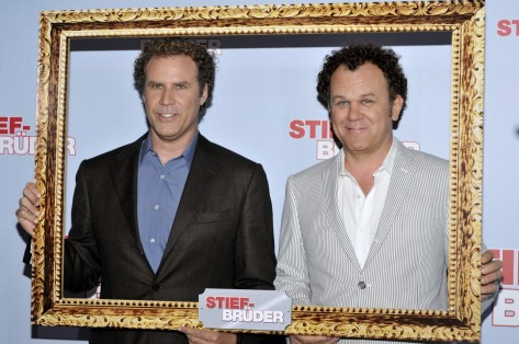 Will And John Will Ferrell And John Reilly At The German Movie Premiere Of Step Brothers Will Ferrell