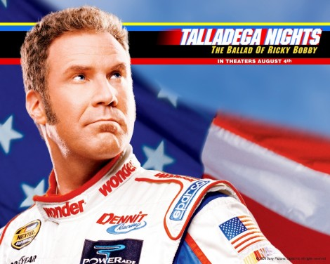 Will Ferrell In Talladega Nights The Ballad Of Ricky Bobby Wallpaper